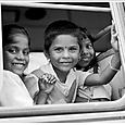 Sur le chemin de l'école - Pondichéry